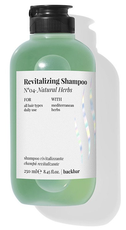 BACK.BAR Revitalizing Shampoo No.4 Natural Herbs 250ml