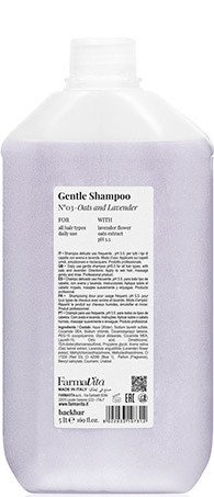 BACK.BAR Gentle Shampoo No.3 Oats+Lavender 5000ml
