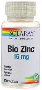 Bio Zinc 15mg, 100 VegCaps