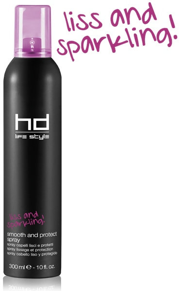 HD - Life Style Smooth and Protect Spray - Dry Heat Protection Spray 300ml
