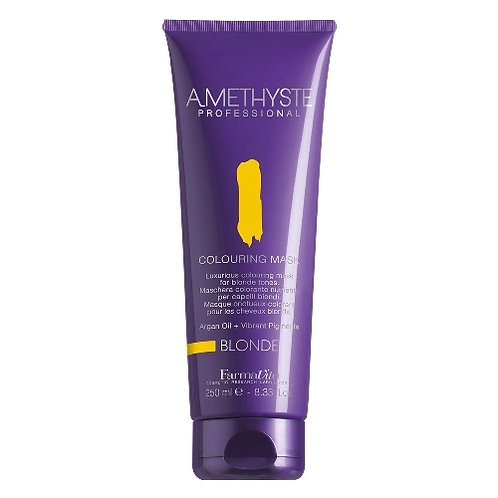 Amethyste Nourishing coloring mask BLONDE - For all shades of blond 250ml