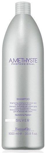 Amethyste Silver Shampoo - śampoon juuste soovimatu kollase varjundi peitmiseks 1000ml