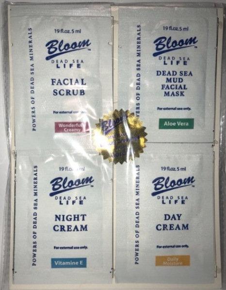Bloom Набор для уходя за кожей лица