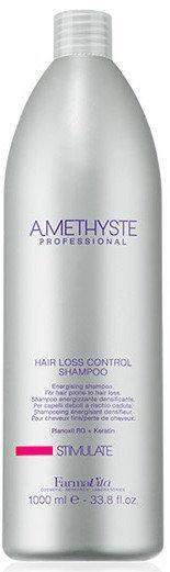 Amethyste Stimulate Hair Loss Control Shampoo - Energia šampoon, mis tugevdab nõrk juukseid ning aitab vähendada juuste väljalangemise riski 1000ml