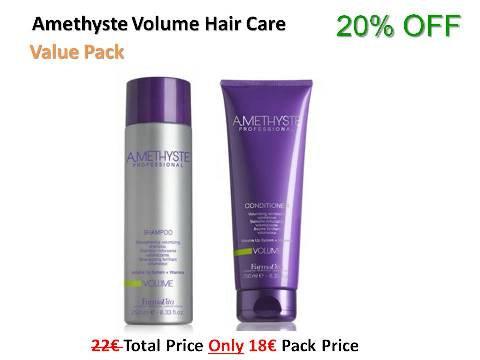 Amethyste Volume juuksehoolduskomplekt