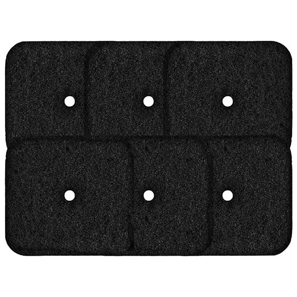 Activated Carbon Replacement Filters Compatible with Catit Hooded Litter Box