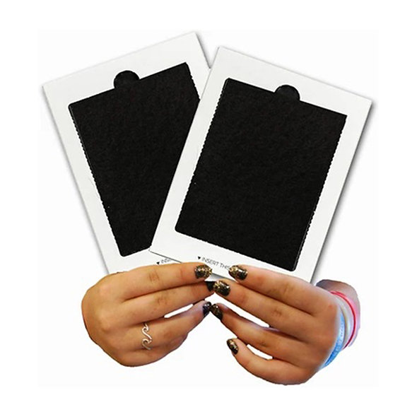 Refrigerator Air Filter Replacement 2-Pack with Activated Carbon
