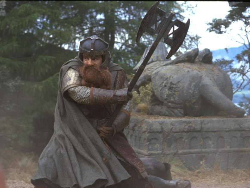 Gimli, medieval axe