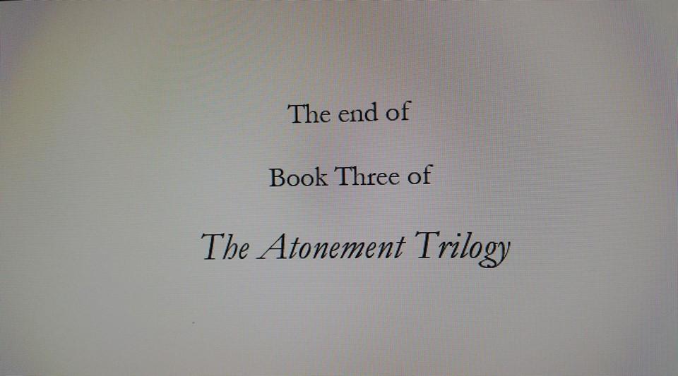 Book Three End