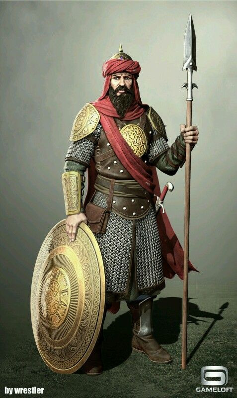 Middle Eastern Soldier
