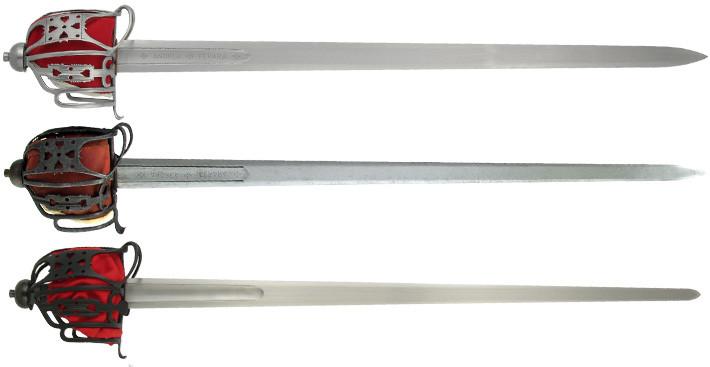 medieval back sword