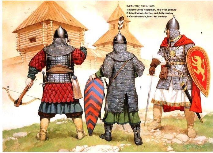 Medieval Russian Soldier