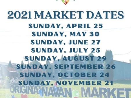 L'édition 2021du marché original de Navan est en cours de préparation!