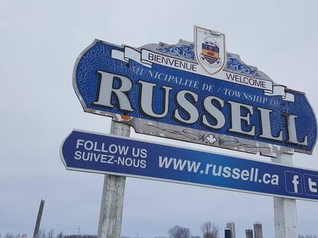 ATTENTION: changement de limite de vitesse dans la région de Russell!