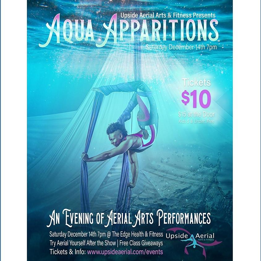 Aqua Apparitions: Upside Aerial Winter Showcase