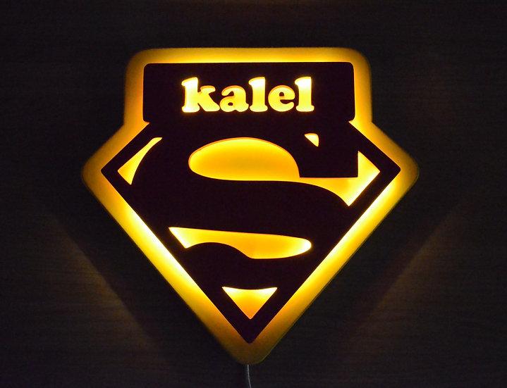 Lámpara Superman personalizada