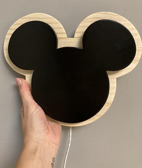 Lámpara infantil acompañamiento Mickey