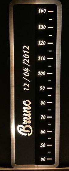 Medidor-Lámpara acompañamiento personalizable