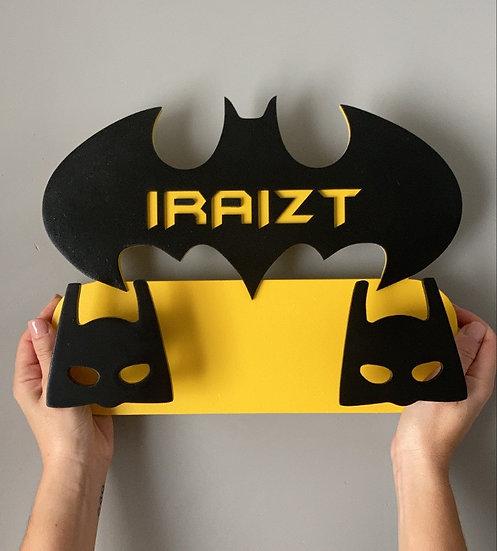 Perchero Batman personalizado