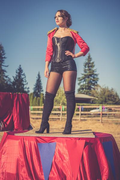 Circus Wedding Ring Leader