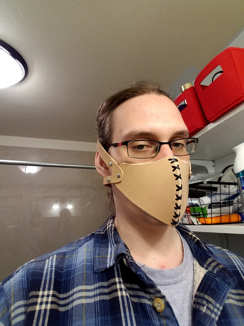 Leather Half Masks