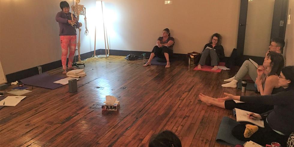 YOGA ANATOMY & SAFETY Workshop w Hang