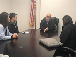 Meeting with the Councilman