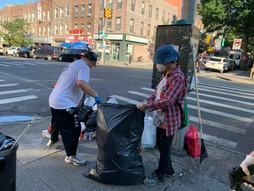 8 Ave Commuity clean up