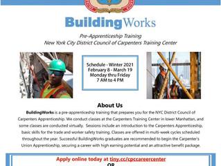 2021年東季-建築學徒課程培訓