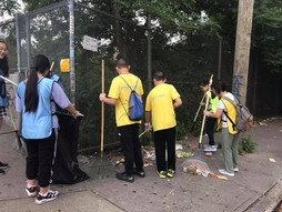 Street Cleaning at 8 Avenue
