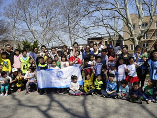 Sunset Park  volunteers day
