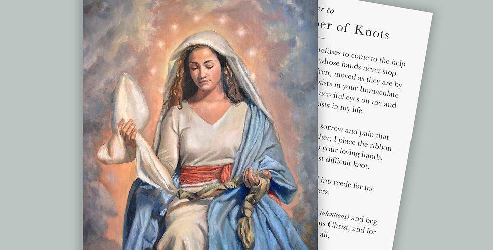 Our Lady Undoer of Knots Prayer Card