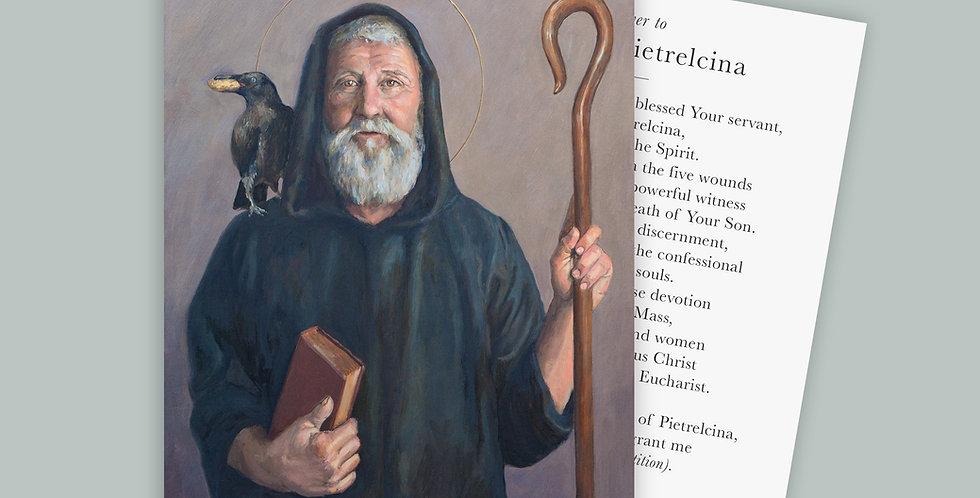 Saint Benedict Prayer Cards Set