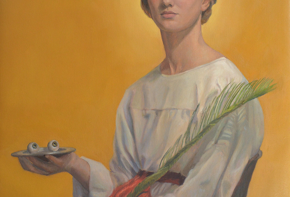 'St. Lucy: Beacon of Light' Print