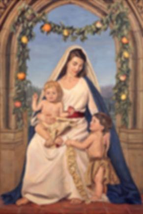 Agnus Dei, 150 x 100, Oil on Canvas (201