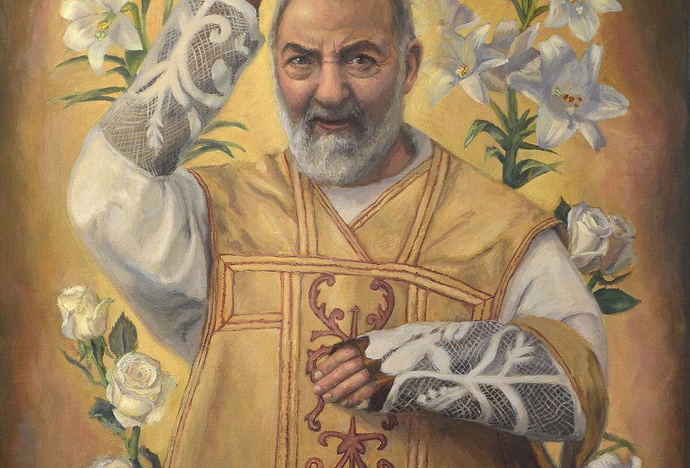 'Saint Padre Pio' Print