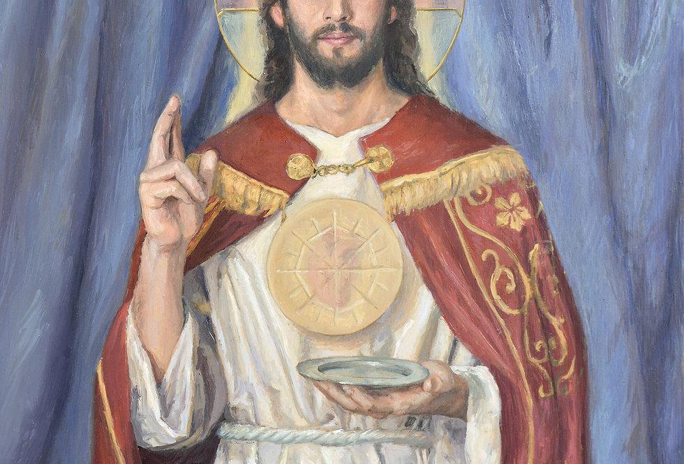 'Christ, High Priest' Print