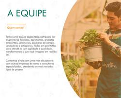 Portifólio - A Empresa - Equipe