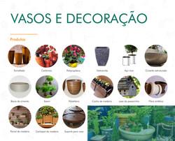 Portifólio - Vasos e Decoração