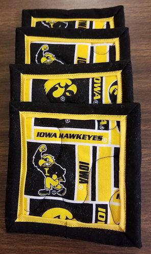 University of Iowa Hawkeyes Coasters