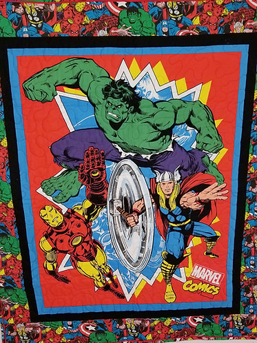 Avengers Small Quilt