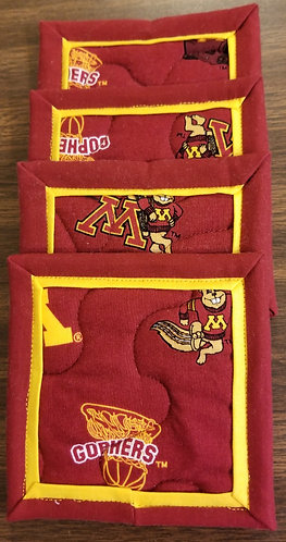 University of Minnesota Golden Gophers Coasters