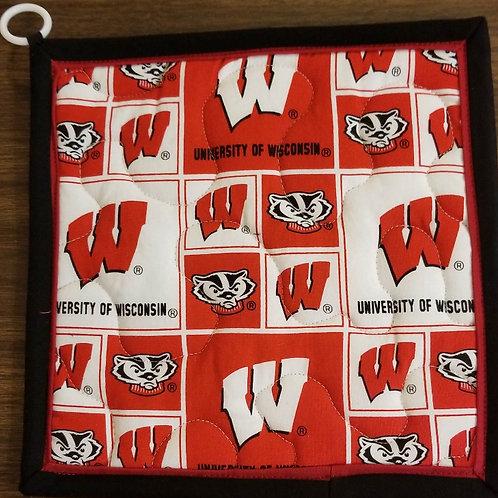 University of Wisconsin Badgers Hot Pad