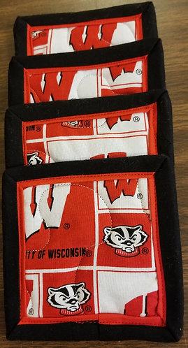 University of Wisconsin Badgers Coasters