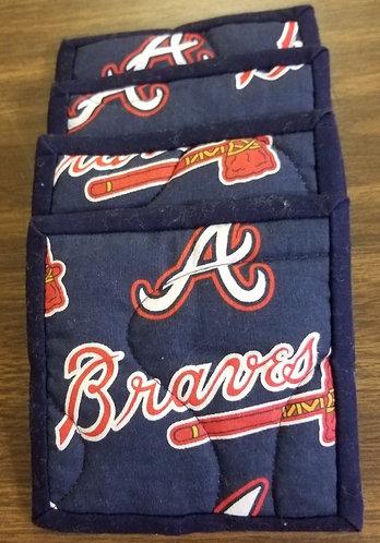 Atlanta Braves Coasters