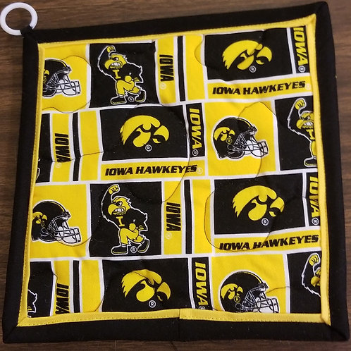 University of Iowa Hawkeyes Hot Pad