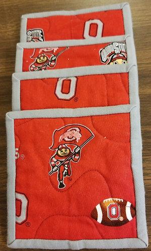 Ohio State University Buckeyes Coasters