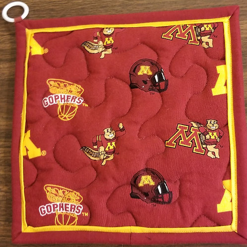 University of Minnesota Golden Gophers Hot Pad