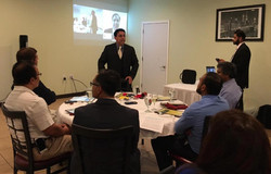 CEO Raj Introduces Congressman