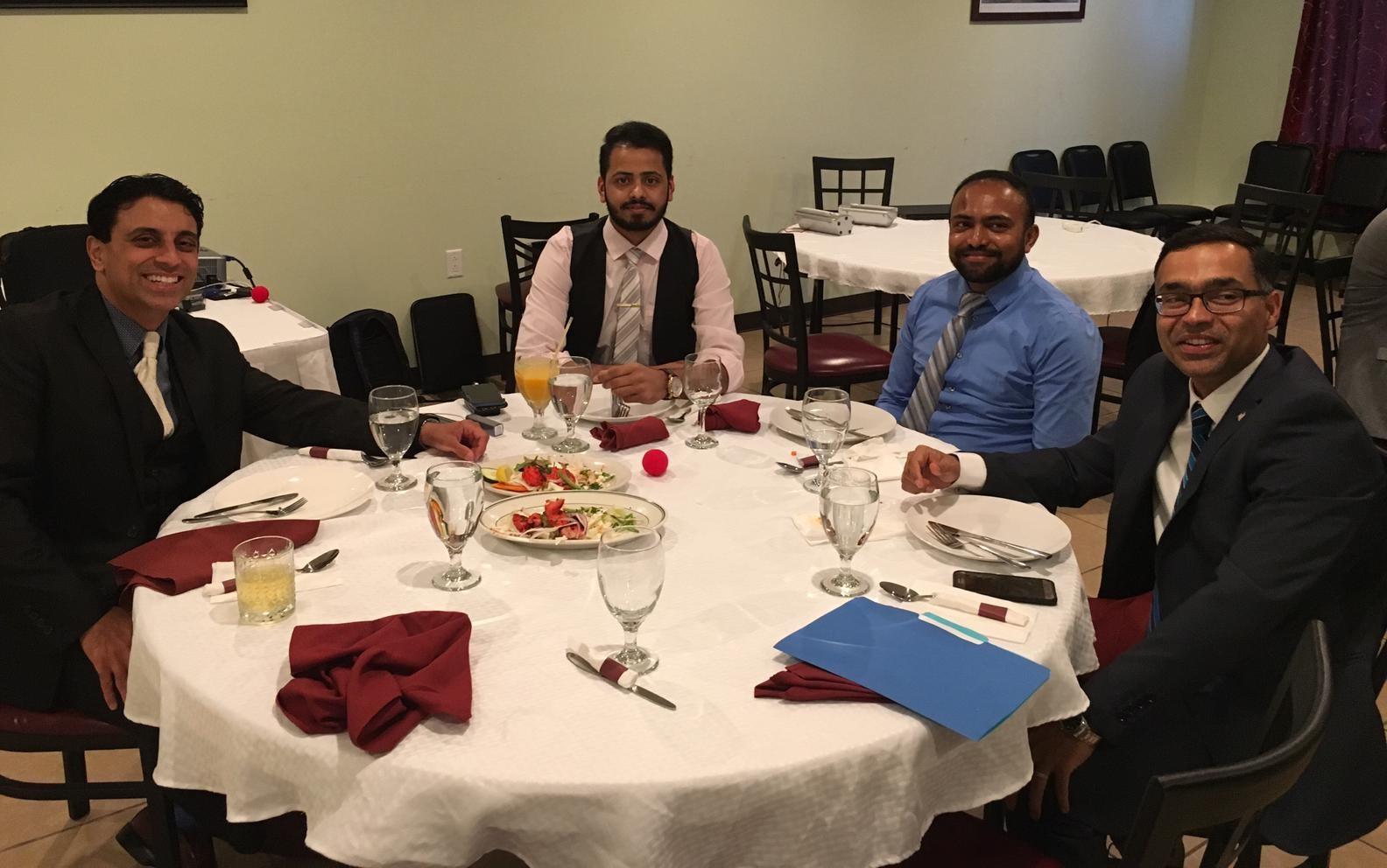 Drs & CEO Raj, Bilal, Naga & Prateek